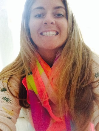 26/3/14 - Beautiful new scarf from my loves Kate, Joe Cool, Mems and Paul.