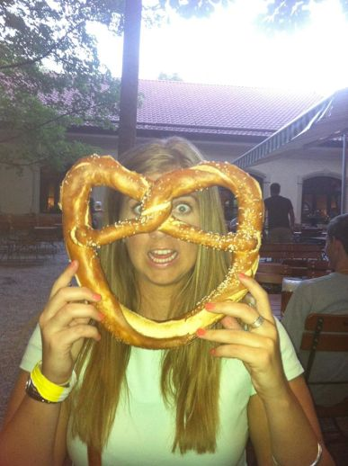 These pretzels are makin me thirsty.. Munich, Germany