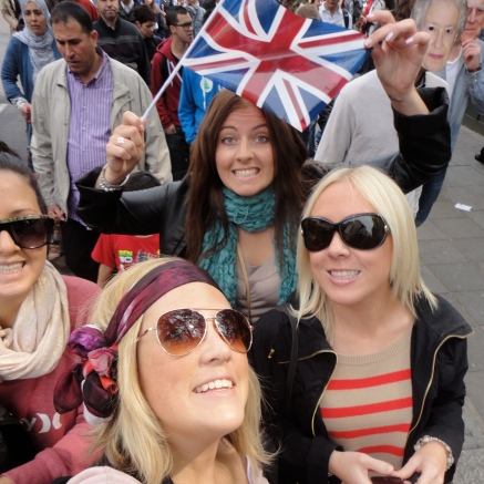 Royal Wedding! Hyde Park, London, England