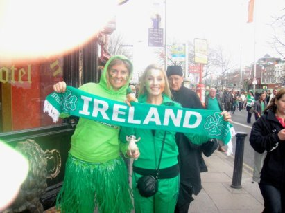 St Patricks Day in Dublin, Ireland